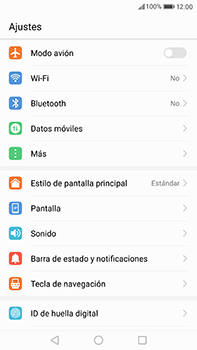 Huawei P10 Plus - WiFi - Conectarse a una red WiFi - Paso 3