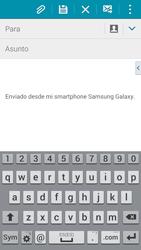 Samsung G900F Galaxy S5 - E-mail - Escribir y enviar un correo electrónico - Paso 5