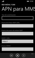 Nokia Lumia 635 - MMS - Configurar el equipo para mensajes multimedia - Paso 10