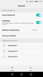Huawei Y6 (2017) - Connection - Conectar dispositivos a través de Bluetooth - Paso 5