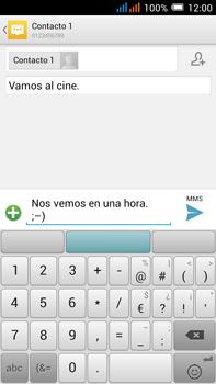 Alcatel Pop C9 - MMS - Escribir y enviar un mensaje multimedia - Paso 13