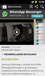 Samsung I8160 Galaxy Ace II - Aplicaciones - Descargar aplicaciones - Paso 7