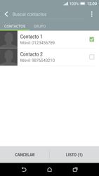 HTC One A9 - MMS - Escribir y enviar un mensaje multimedia - Paso 8
