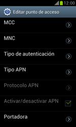 Samsung S7560 Galaxy Trend - Internet - Configurar Internet - Paso 13