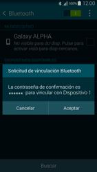 Samsung G850F Galaxy Alpha - Connection - Conectar dispositivos a través de Bluetooth - Paso 7