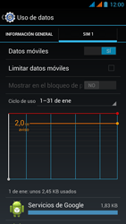 Wiko Stairway - Internet - Ver uso de datos - Paso 6