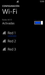 Nokia Lumia 520 - WiFi - Conectarse a una red WiFi - Paso 8