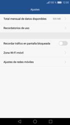 Huawei P9 - Internet - Ver uso de datos - Paso 9