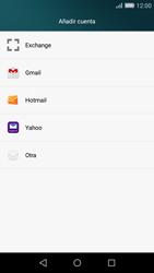 Huawei P8 Lite - E-mail - Configurar correo electrónico - Paso 5