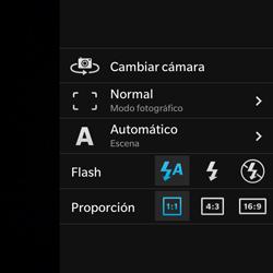 BlackBerry Q5 - Red - Uso de la camára - Paso 8