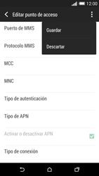HTC One M8 - Internet - Configurar Internet - Paso 15