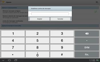 Samsung P7500 Galaxy Tab 10-1 - MMS - Configurar el equipo para mensajes de texto - Paso 6