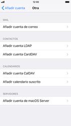 Apple iPhone 6 iOS 11 - E-mail - Configurar correo electrónico - Paso 6