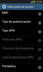 Samsung S7580 Galaxy Trend Plus - MMS - Configurar el equipo para mensajes multimedia - Paso 13
