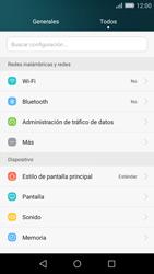 Huawei P8 Lite - Internet - Configurar Internet - Paso 3