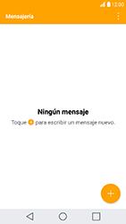 LG K10 (2017) - MMS - Escribir y enviar un mensaje multimedia - Paso 3