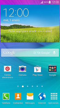 Samsung N910F Galaxy Note 4 - E-mail - Configurar Yahoo! - Paso 1