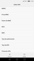Huawei P9 - MMS - Configurar el equipo para mensajes multimedia - Paso 12