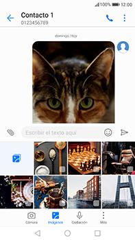 Huawei P10 Plus - MMS - Escribir y enviar un mensaje multimedia - Paso 18