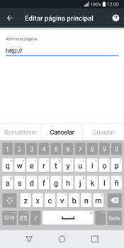 LG Q6 - Internet - Configurar Internet - Paso 25