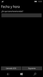 Microsoft Lumia 950 - Primeros pasos - Activar el equipo - Paso 10