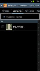 Samsung I9300 Galaxy S III - MMS - Escribir y enviar un mensaje multimedia - Paso 6