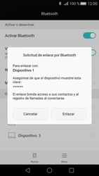 Huawei P8 - Connection - Conectar dispositivos a través de Bluetooth - Paso 6