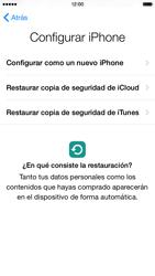 Apple iPhone 6 iOS 8 - Primeros pasos - Activar el equipo - Paso 12