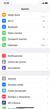 Apple iPhone X - Red - Activar o desactivar el modo avión - Paso 3