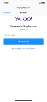 Apple iPhone X - E-mail - Configurar Yahoo! - Paso 7