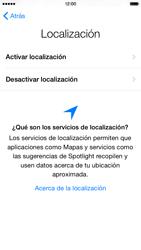 Apple iPhone 6 iOS 8 - Primeros pasos - Activar el equipo - Paso 10