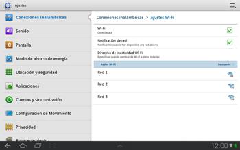 Samsung P7500 Galaxy Tab 10-1 - WiFi - Conectarse a una red WiFi - Paso 6