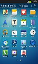 Samsung I8260 Galaxy Core - MMS - Configurar el equipo para mensajes de texto - Paso 3