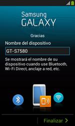 Samsung S7580 Galaxy Trend Plus - Primeros pasos - Activar el equipo - Paso 15