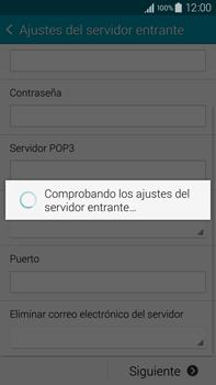 Samsung N910F Galaxy Note 4 - E-mail - Configurar correo electrónico - Paso 11