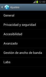 Samsung S7560 Galaxy Trend - Internet - Configurar Internet - Paso 22