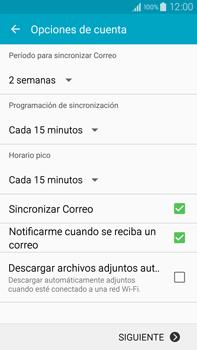 Samsung N910F Galaxy Note 4 - E-mail - Configurar Yahoo! - Paso 7