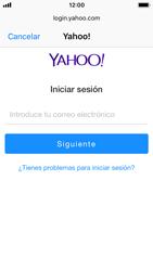 Apple iPhone SE - iOS 11 - E-mail - Configurar Yahoo! - Paso 6