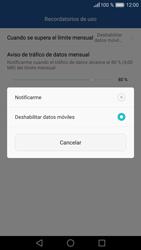 Huawei P9 Lite - Internet - Ver uso de datos - Paso 11