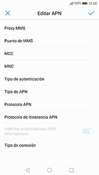 Huawei P10 Plus - MMS - Configurar el equipo para mensajes multimedia - Paso 11