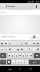 Sony D2203 Xperia E3 - MMS - Escribir y enviar un mensaje multimedia - Paso 5