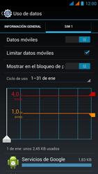 Wiko Stairway - Internet - Ver uso de datos - Paso 12