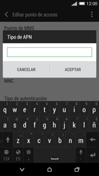 HTC One M8 - Internet - Configurar Internet - Paso 13