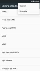 BQ Aquaris U - MMS - Configurar el equipo para mensajes multimedia - Paso 15