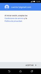 HTC One M9 - E-mail - Configurar Gmail - Paso 13