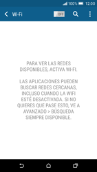 HTC One M9 - WiFi - Conectarse a una red WiFi - Paso 5