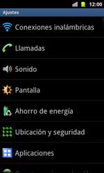 Samsung I8160 Galaxy Ace II - MMS - Configurar el equipo para mensajes multimedia - Paso 4