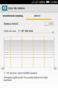 Alcatel Pop C9 - Internet - Activar o desactivar la conexión de datos - Paso 8
