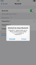 Apple iPhone 6 iOS 8 - Connection - Conectar dispositivos a través de Bluetooth - Paso 6