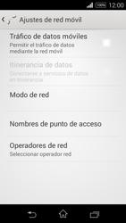 Sony D2203 Xperia E3 - Internet - Activar o desactivar la conexión de datos - Paso 8